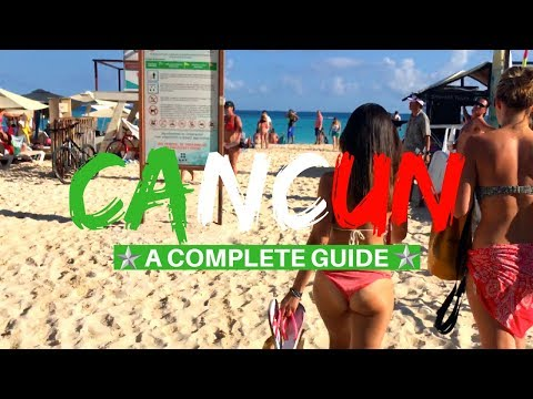 Cancun Travel Guide: Untold Tips (Cancun 2018)