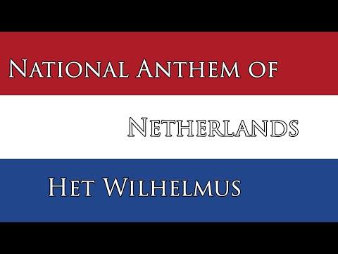 National Anthem of Netherland - Het Wilhelmus (The William)