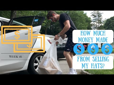 Starting BDGE Vlog | Week 16 | How Much Money Did I Make from Selling BDGE Dad Hats?