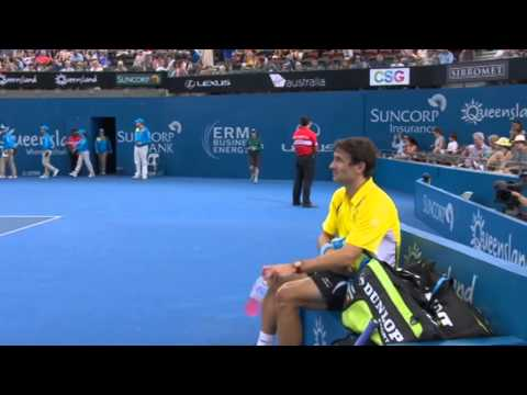 Tommy Robredo v Ryan Harrison - Full Match Men's Singles Round 1: Brisbane International 2013