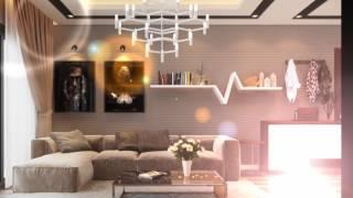 Thiết kế nội thất chung cư FLC - Căn hộ mẫu chung cư FLC - Nhà mẫu chung cư FLC Phạm Hùng