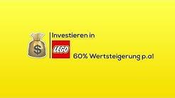 In LEGO investieren! 60% Wertsteigerung - Lego Wertanlage #1