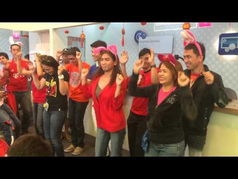 Globe Telecom Dance Craze