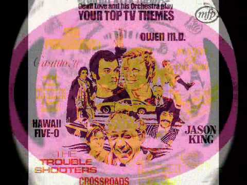 Geoff Love and his Orchestra  play Your Top TV Themes - The Persuaders Theme - 1972
