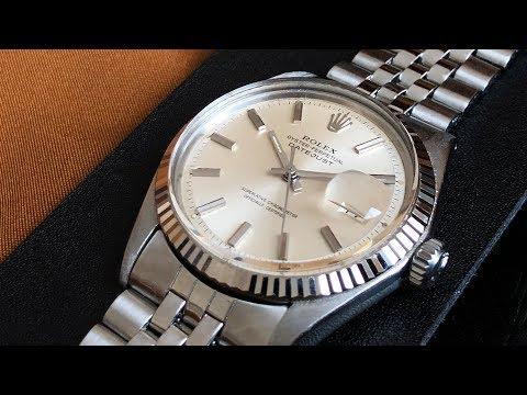 Mijn eerste horloge: De Rolex Datejust 1601 - Storytime