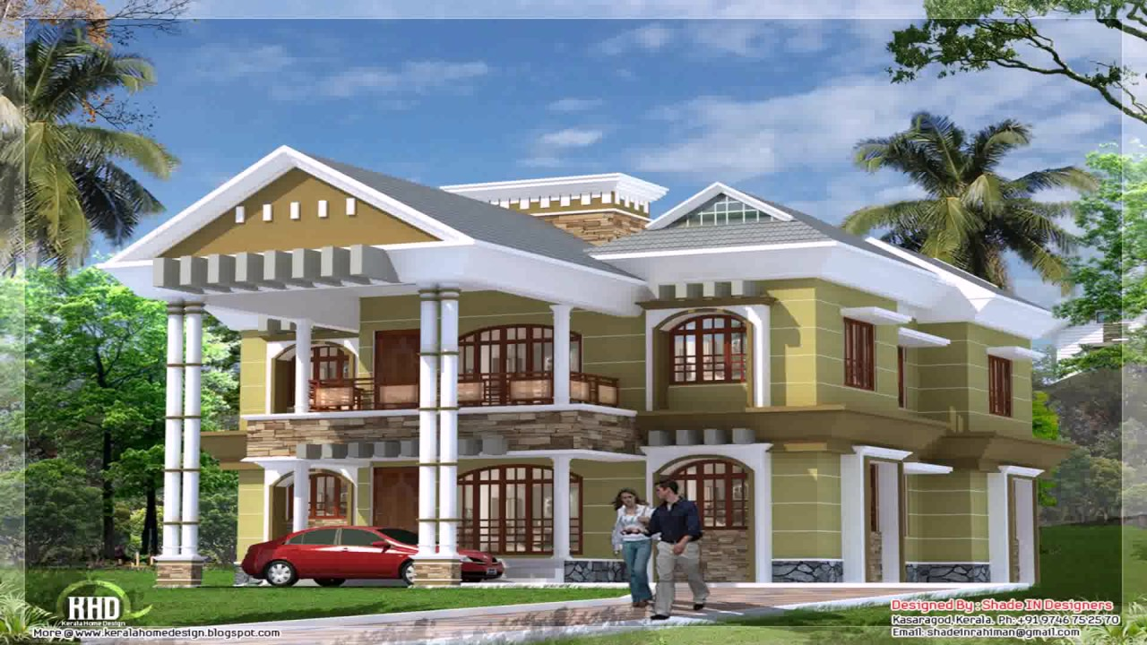 front design of house in india double story