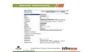 How to set up External Forwarding using Route Points