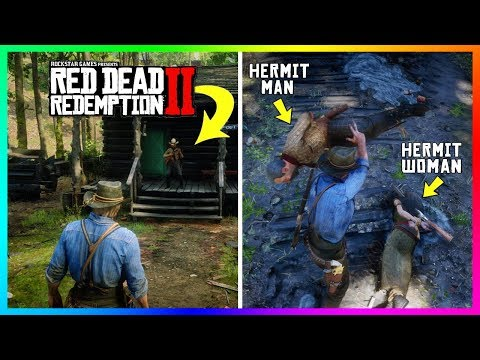 What Happens If You Bring The Hermit Across The Map To The Hermit WOMAN In Red Dead Redemption 2? thumbnail