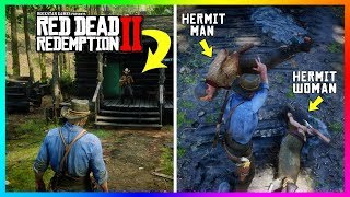 What Happens If You Bring The Hermit Across The Map To The Hermit WOMAN In Red Dead Redemption 2?