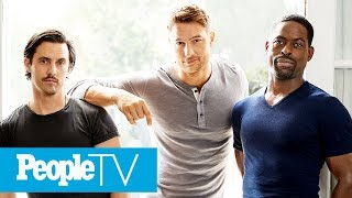 Milo Ventimiglia & 'This Is Us' Men On What They Find Most Attractive About Each Other | PeopleTV