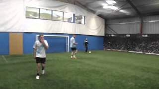 Rectory Rovers Training in The Sports Hut Indoor 3G
