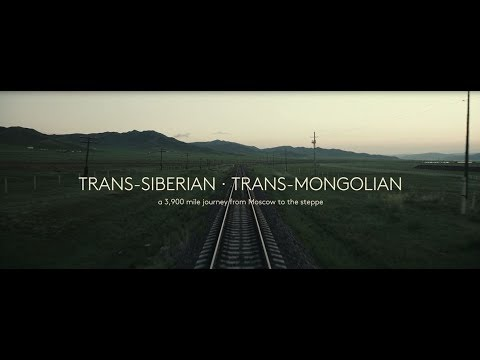 3900 mile journey from Moscow to the steppe by trans