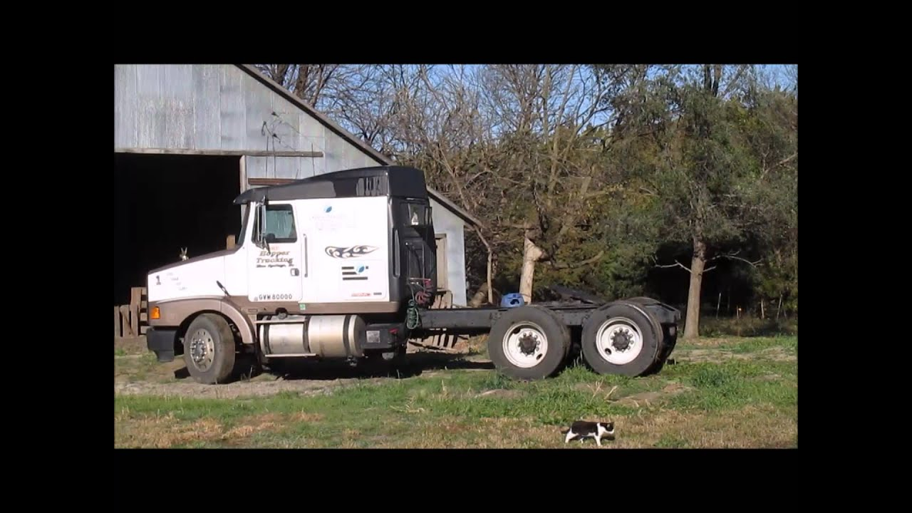 1989 volvo wia semi truck for sale sold at auction december 3 2014 youtube