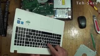 видео Как поменять клавиатуру на ноутбуке  самостоятельно?