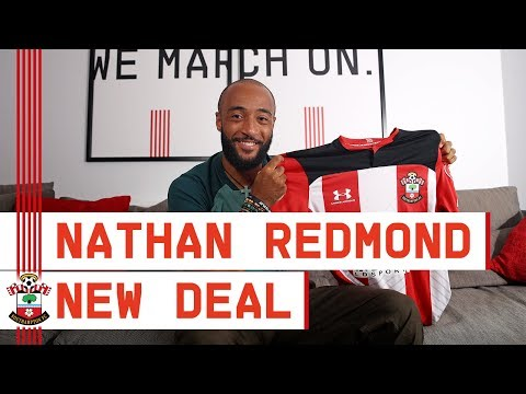 NEW DEAL FOR REDMOND | Nathan Redmond speaks after signing a new four-year contract at Southampton
