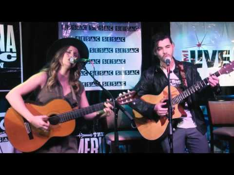 Angelica Rahe & Jon Arckey  2016 DURANGO Songwriters ExpoSB