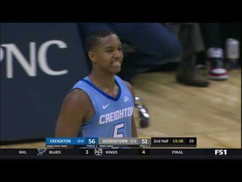 Georgetown vs Creighton Highlights: #BIGEASThoops