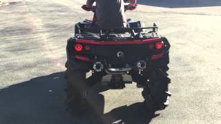 Video 2016 CAN AM XMR 1000R WITH RJWC DUEL EXHAUST download MP3, 3GP, MP4, WEBM, AVI, FLV Januari 2018