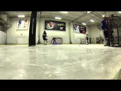 Training at Stauber's Goalcrease 8