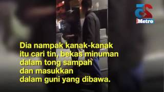 Policeman's kindness in buying food for immigrant boy captures hearts of Malaysians
