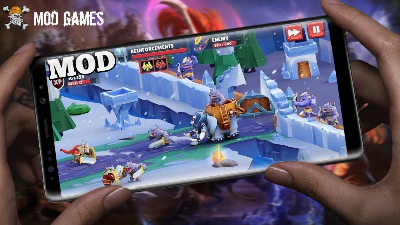 Game of Warriors Mod Apk v1.4.1 (Unlimited Money) Offline ...