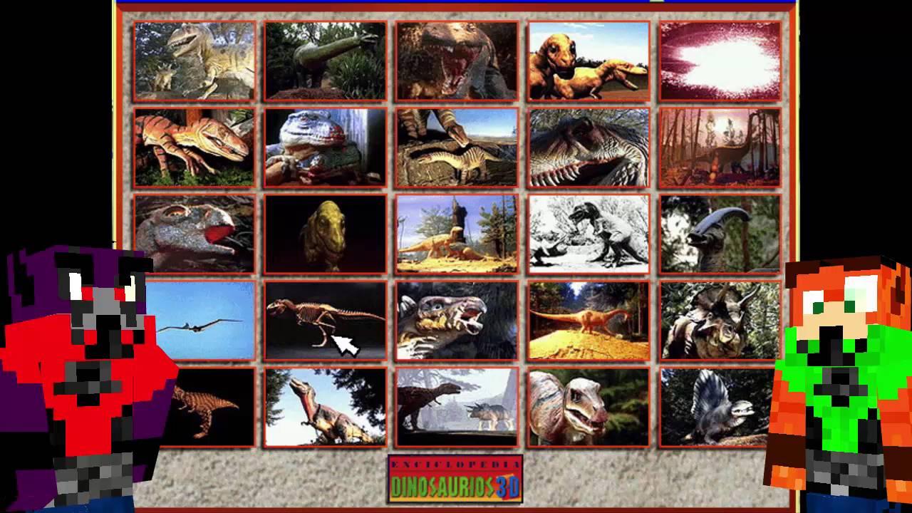 """Enciclopedia de los Dinosaurios 3-D (Animación """"El"""