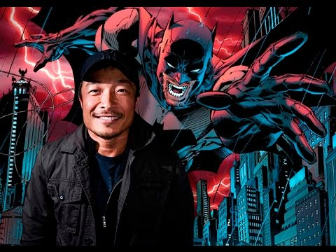 Comic Book Artist JIM LEE - FanExpo Dallas 2017 - Tells Jokes and Draws Batman