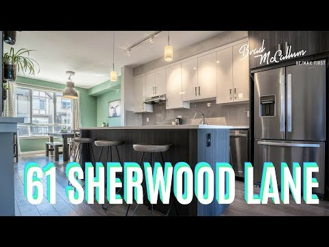Modern SHERWOOD townhome On GORGEOUS Ravine! - Calgary Real