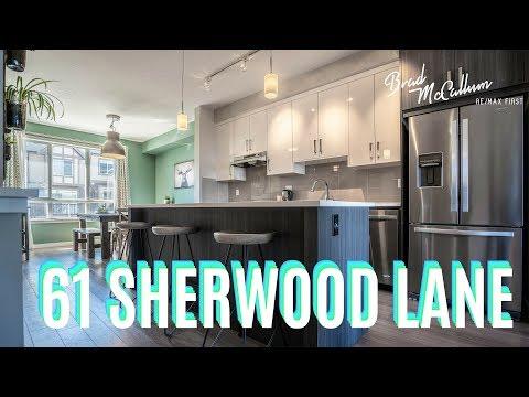 Modern SHERWOOD Townhome On GORGEOUS Ravine! - Calgary Real Estate