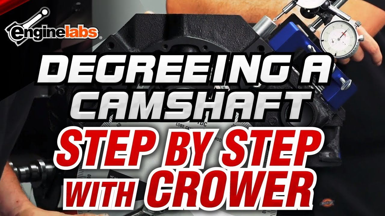 Degreeing a Camshaft - Step By Step with Crower