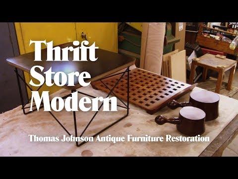 Thrift Store Modern - Thomas Johnson Antique Furniture Restoration