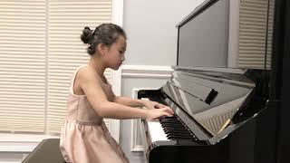 Grace Shiu(9), William Gillock : Valse Etude.