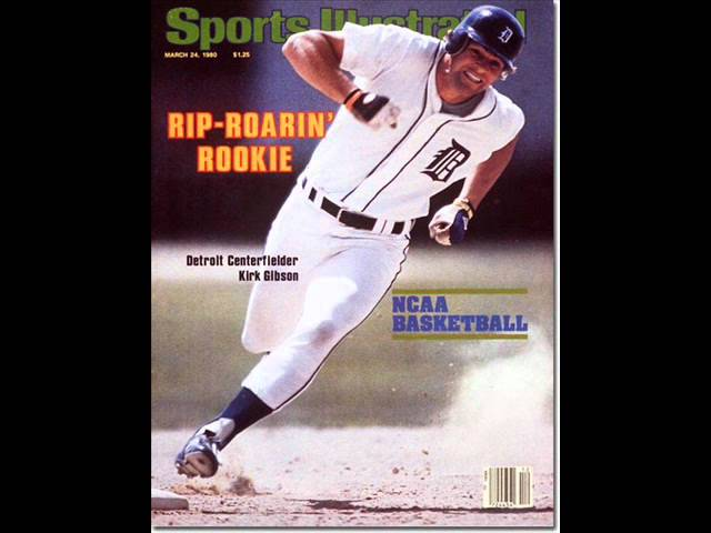 Image result for kirk gibson si cover 1980