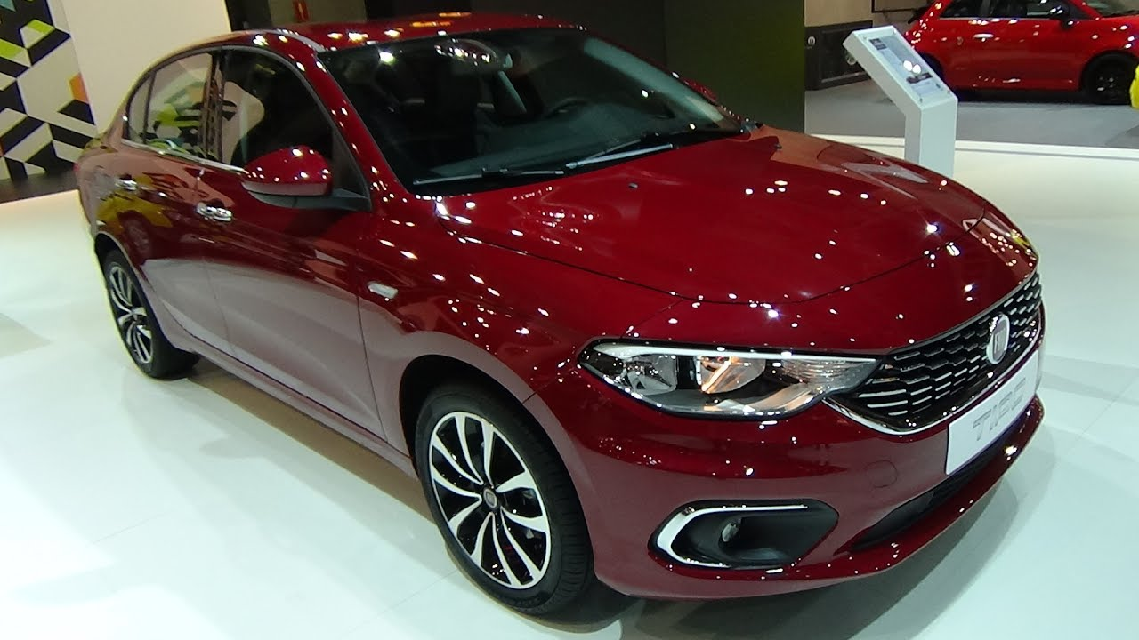 2017 fiat tipo sedan 1 4 t jet 16v lounge exterior and interior automobile barcelona 2017 - Fiat tipo interior ...