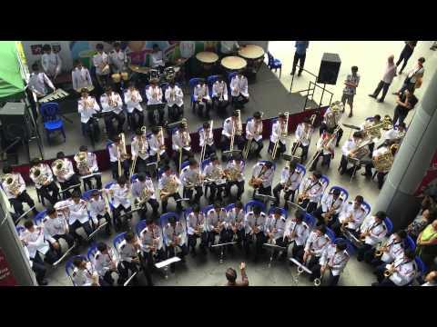 YMCA - Montfort Military Band - Nex performance - 15/08/15