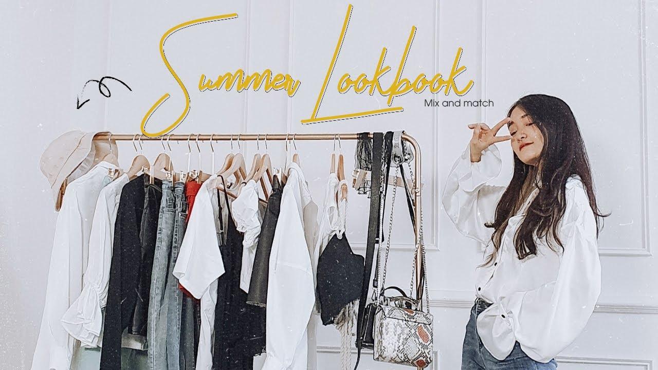 SUMMER LOOKBOOK 2020 | GỢI Ý PHỐI ĐỒ MÙA HÈ (162cm)