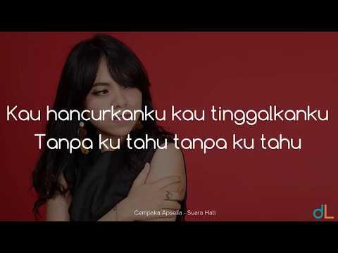 Suara Hati  Cempaka Apsella Lyrics HD