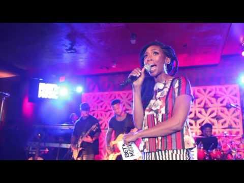 Brandy Hosts BET Music Showcase 2016