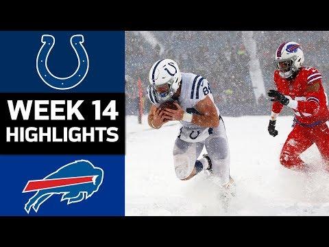 Colts vs. Bills | NFL Week 14 Game Highlights