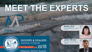 Mining Plus - Open Pit Mining Experts attending Diggers & Dealers 2018