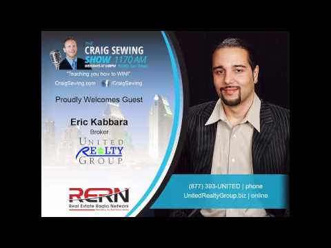 United Realty Group Broker on The Craig Sewing Show- 100% Commission Real Estate