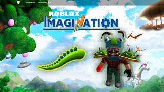 Roblox Imagination 2017 на русском - Хвост монстра ! Мульт игра для детей!!