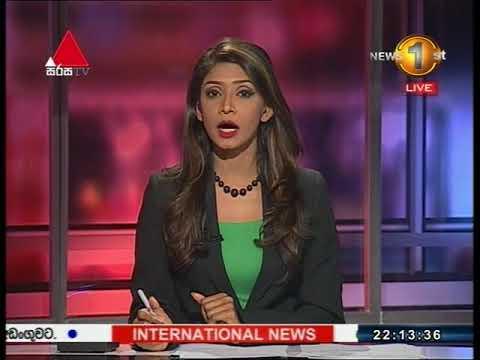 News 1st: Prime Time Sinhala News - 10 PM | (13-01-2018)
