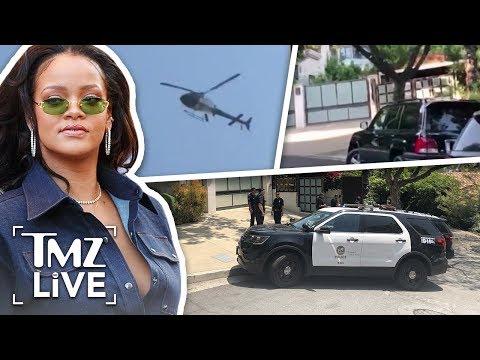 rihanna's-house-swarmed-by-police-|-tmz-live