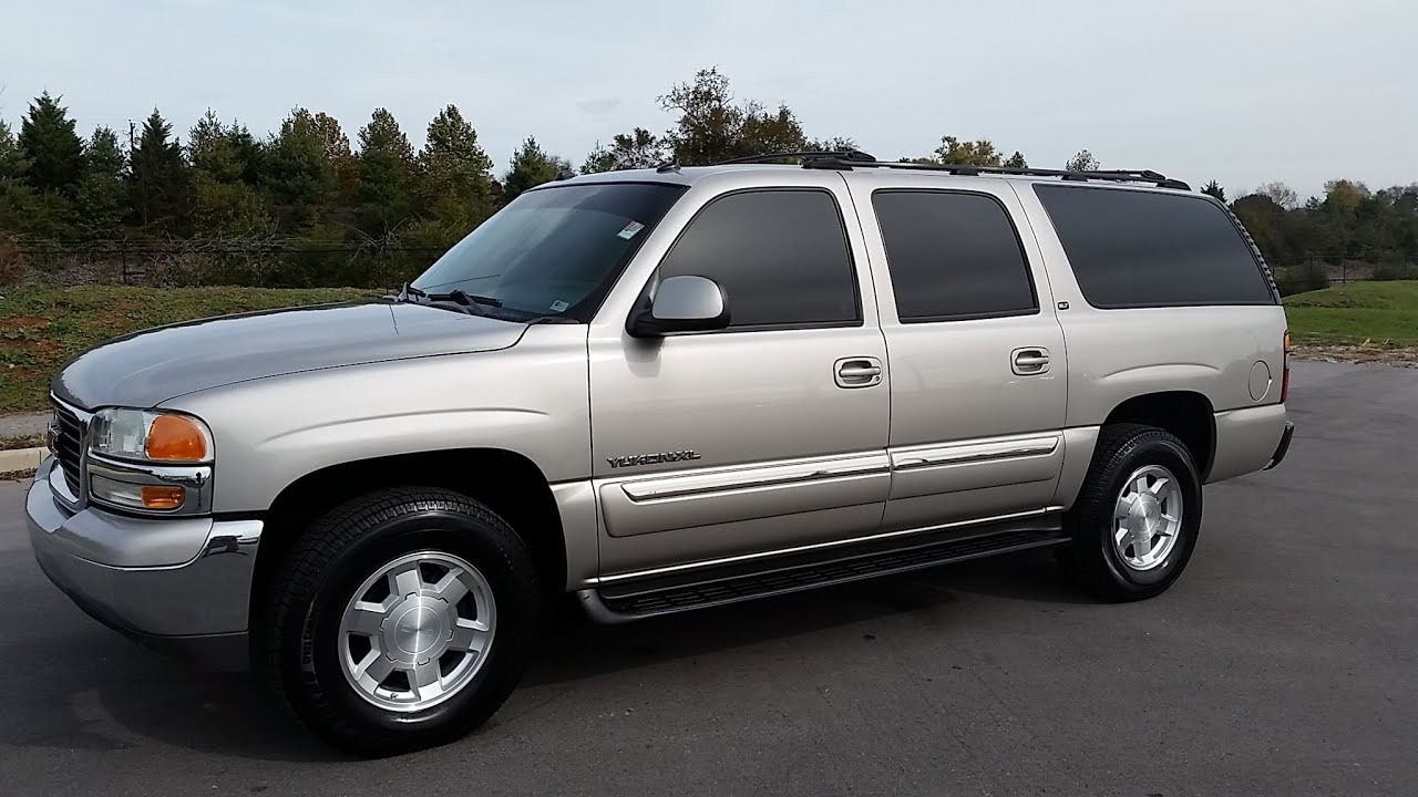 Sold 2004 gmc yukon xl slt trim 4x2 180k leather for sale www wilsoncountymotors com 855 507 8520 youtube