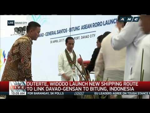 Duterte, Widodo launches PH-Indonesia Ro-Ro route (3)