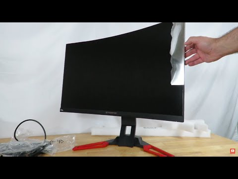 Unboxing & Overview of the Acer Predator Gaming Z321QU Curved Gaming Monitor