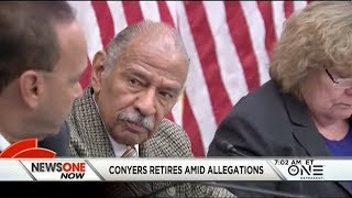 Congressman John Conyers Retires Amid Sexual Misconduct Allegations