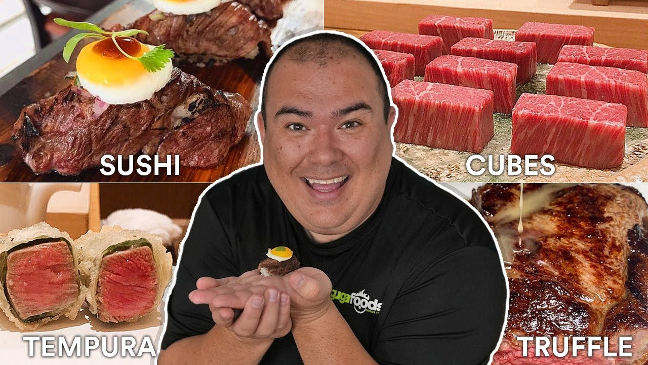 We tried every WAGYU from Instagram | Guga Foods