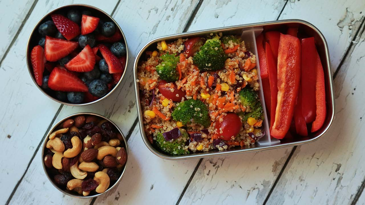 3 healthy quinoa recipes back to school lunch ideas youtube forumfinder Choice Image